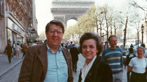 Neil and Leslyn Sauer in Paris